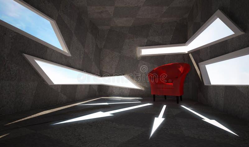 Zaal vector illustratie