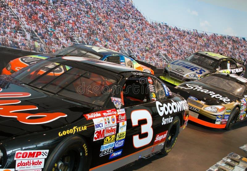 Zaal NASCAR van het Museum van de Bekendheid stock afbeeldingen
