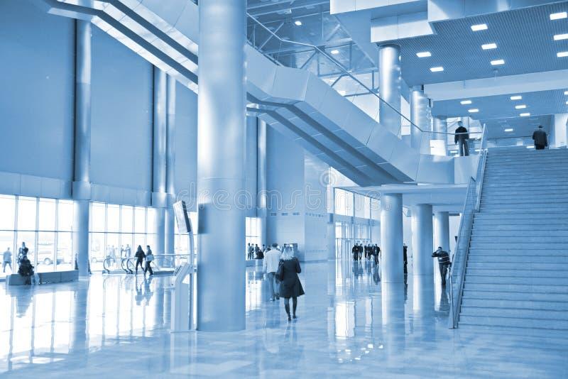 Zaal van commercieel centrum royalty-vrije stock foto