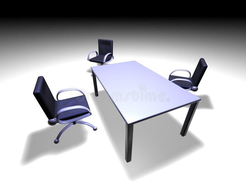Zaal van de vergadering 3 vector illustratie
