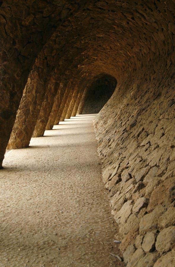 Download Zaal Van Golven In Het Park Guell (Barcelona, Spanje) Stock Foto - Afbeelding bestaande uit architect, samenvatting: 10777152