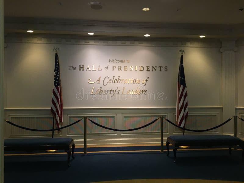 Zaal van Voorzitters stock fotografie
