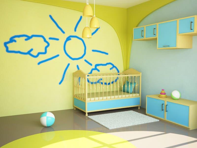Zaal voor het kind vector illustratie