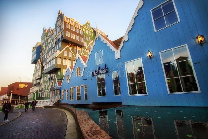 Zaandam Street royalty free stock photography
