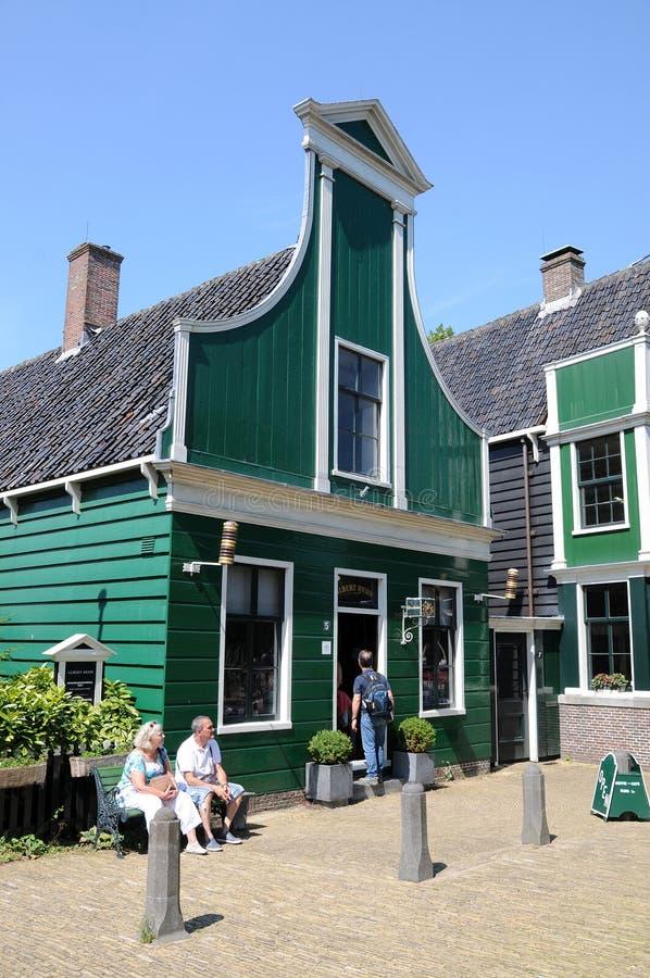 Free Zaanse Schans, Albert Heijn Royalty Free Stock Photos - 58325288