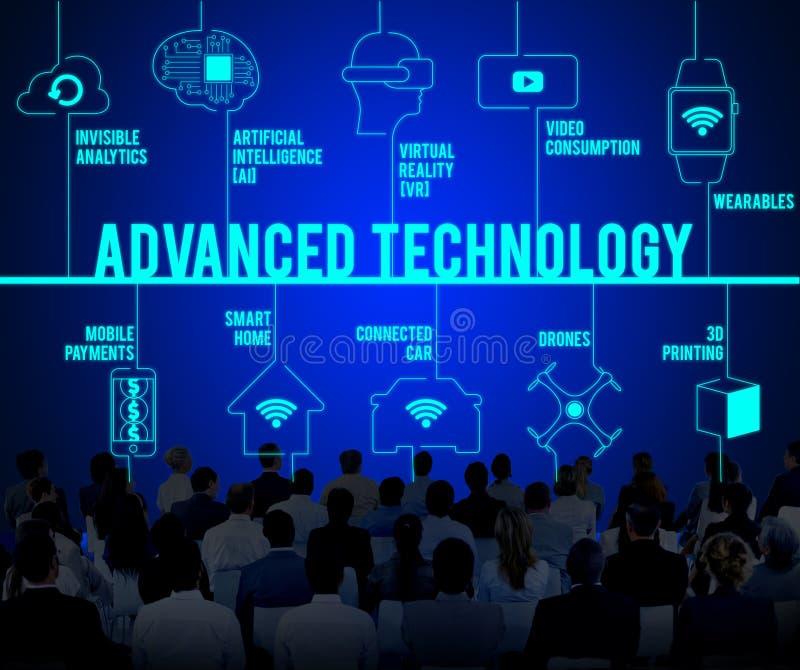 Zaawansowana Technologia trutni technologii Związany pojęcie zdjęcia royalty free
