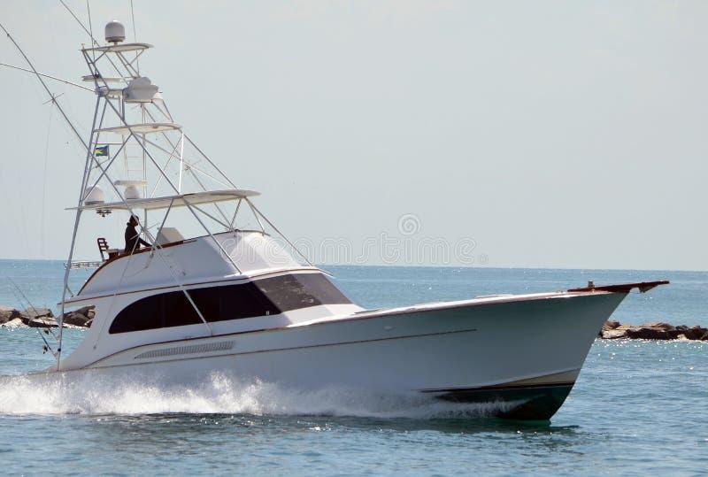 Zaawansowany sport łodzi rybackiej oddawanie przesyłać obrazy royalty free