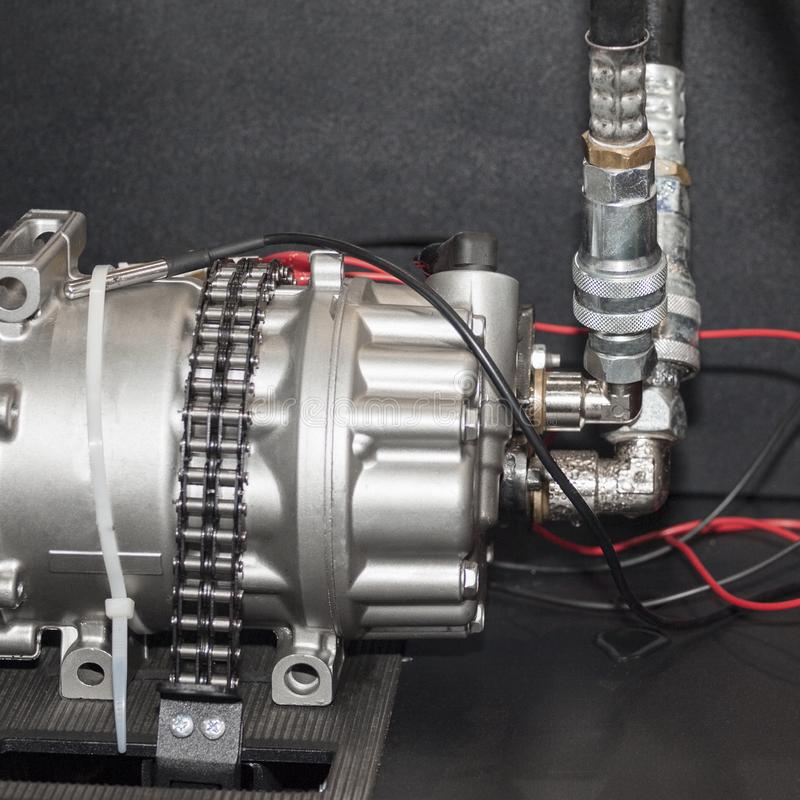 Zaawansowany technicznie i wysokiej jakości nacisk próżniowe pompy kontrolować stałego spływowego tempo olej obrotowe lub vane zdjęcie royalty free