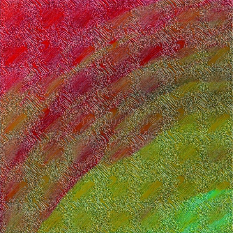 Zabarwiam tonował jaskrawy szczotkarski uderzeń malować Kreatywnie abstrakcjonistyczny brezentowy druk ilustracji