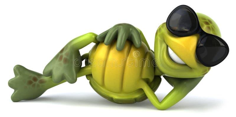 zabawa żółw ilustracji