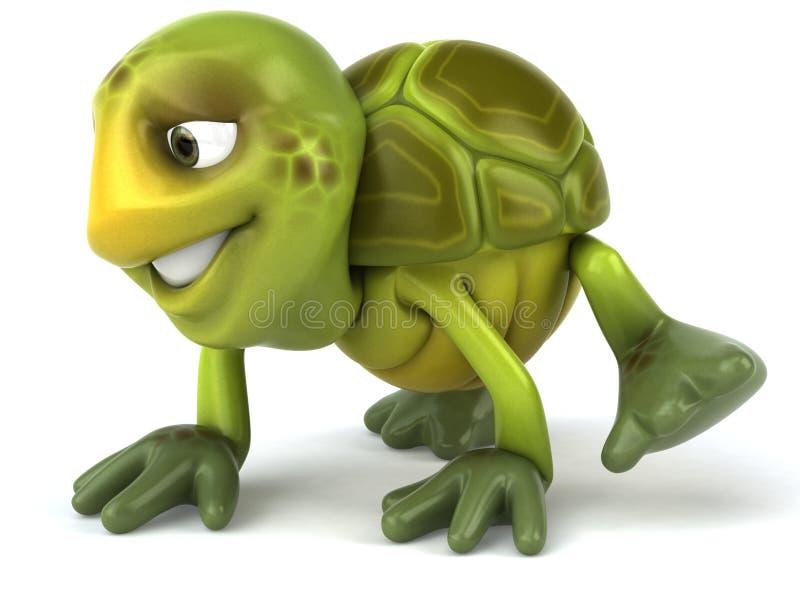 zabawa żółw royalty ilustracja