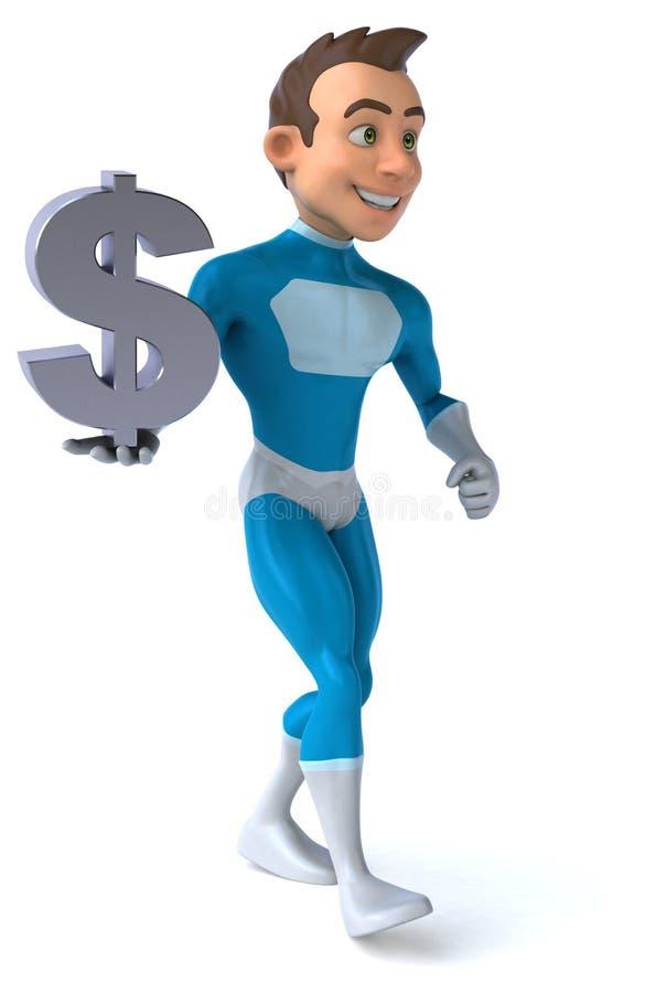 Download Zabawa bohater ilustracji. Ilustracja złożonej z ilustracje - 53788031