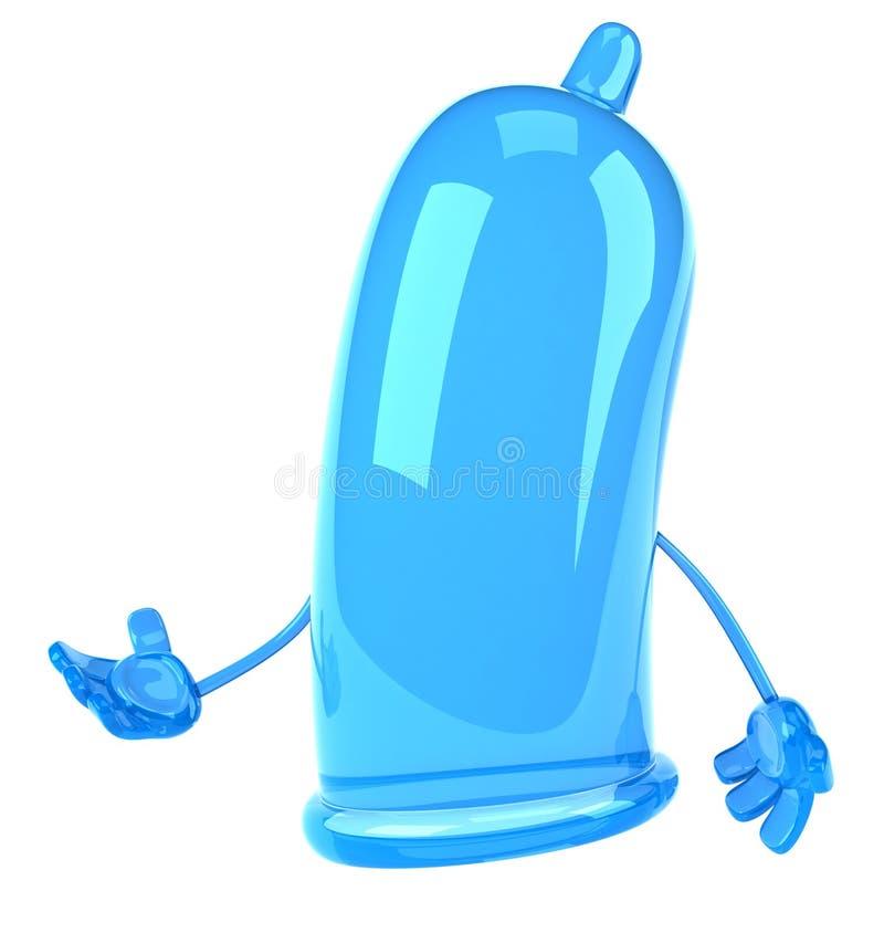 Zabawa kondom ilustracji