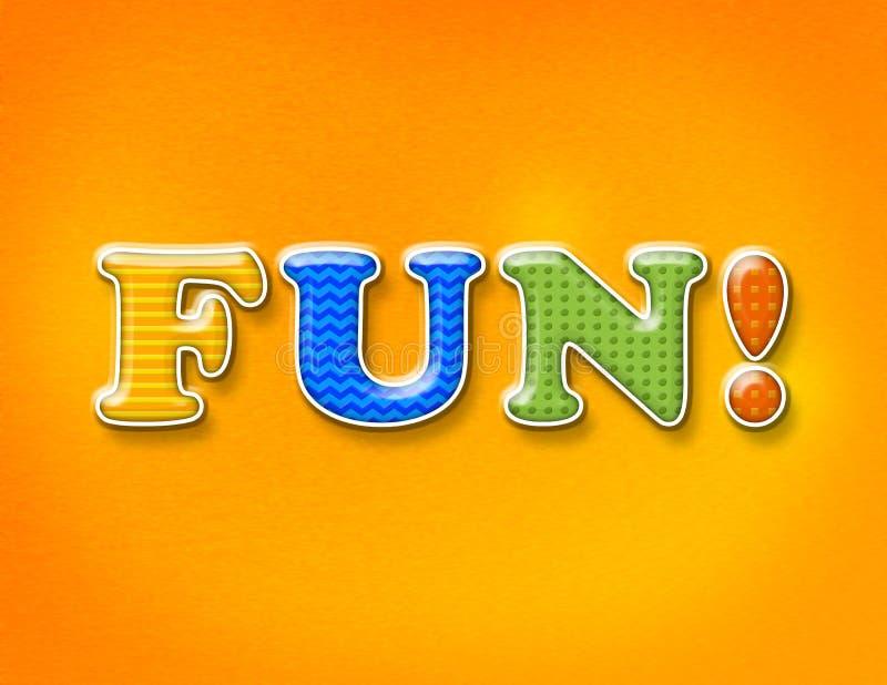 Zabawa listów Kolorowy pojęcie zdjęcie royalty free