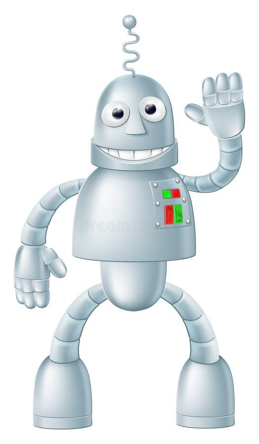 Zabawa robot Charcater royalty ilustracja