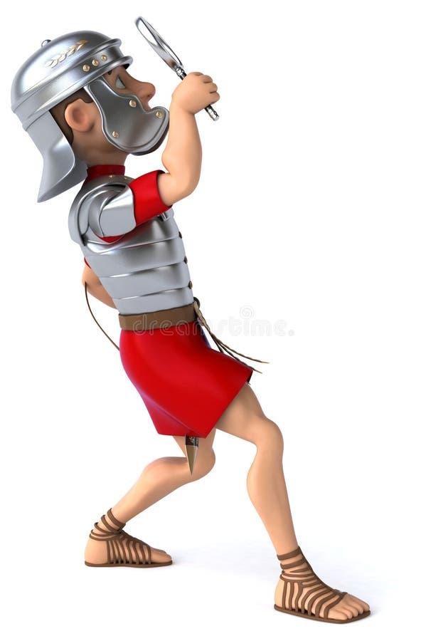 Download Zabawa rzymski żołnierz ilustracji. Ilustracja złożonej z republika - 53787995