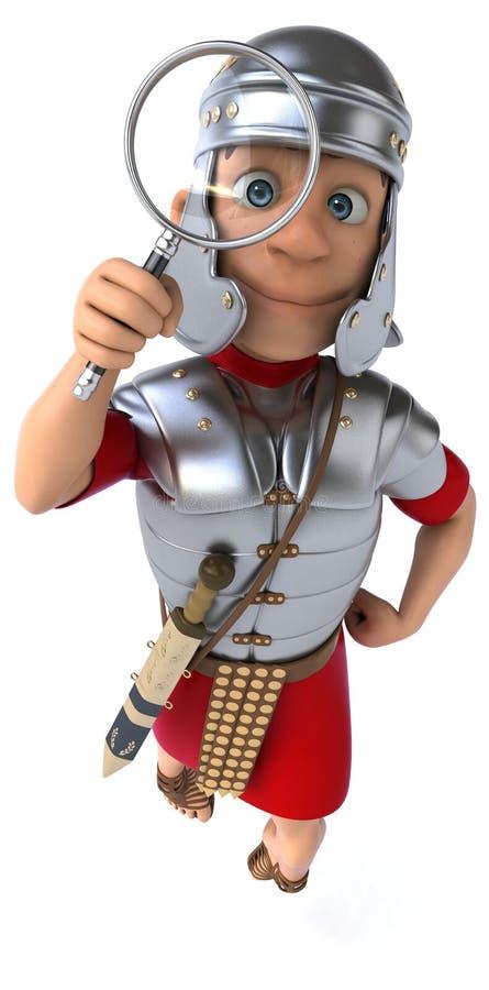 Download Zabawa rzymski żołnierz ilustracji. Ilustracja złożonej z wytwór - 53788008
