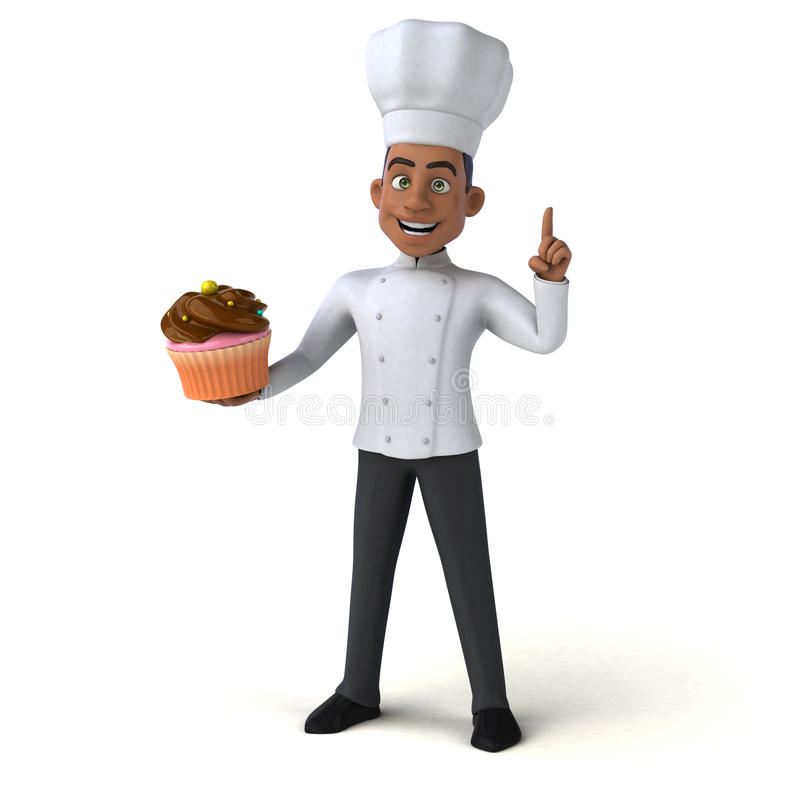 Zabawa szef kuchni ilustracja wektor