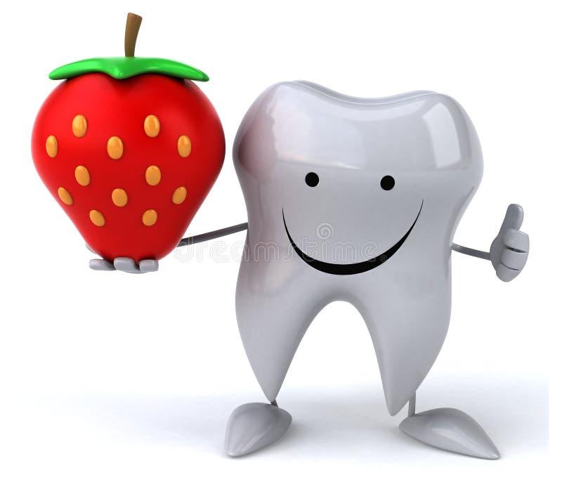 Zabawa ząb ilustracji