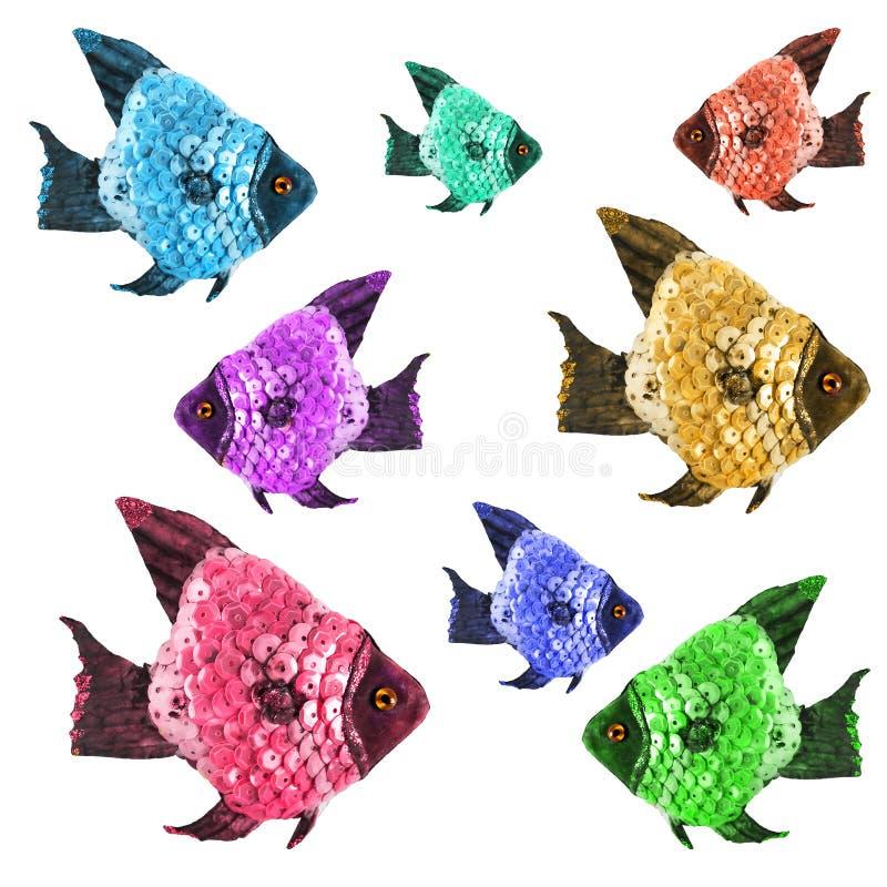 Zabawek ryba obrazy stock