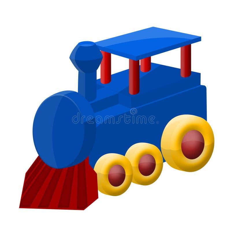 zabawka kolorowy pociąg ilustracji