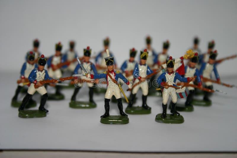 Zabawkarscy żołnierze obraz royalty free
