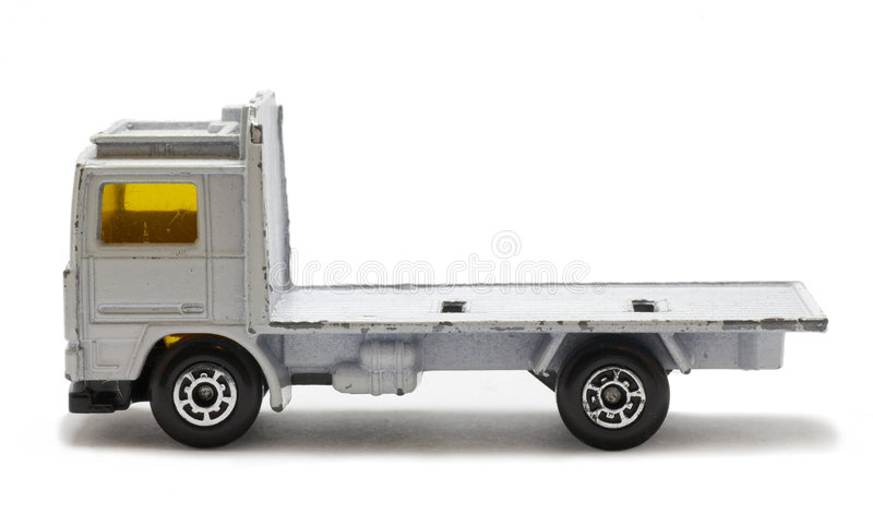 zabawkarska ciężarówka zdjęcie royalty free