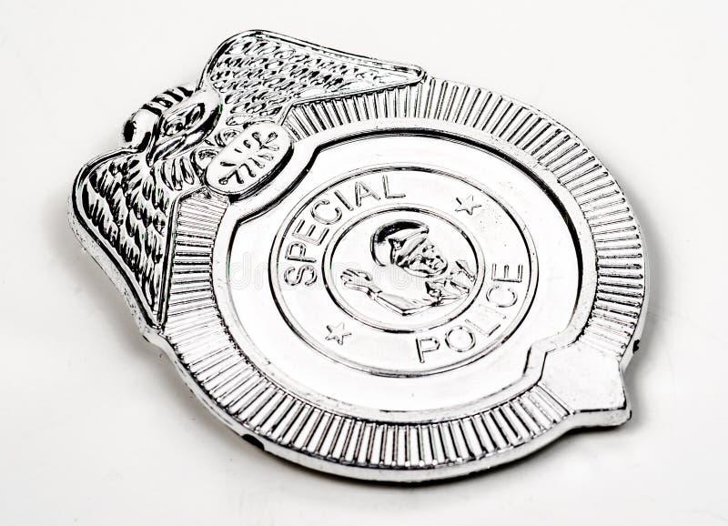 Zabawkarska milicyjna odznaka obraz royalty free