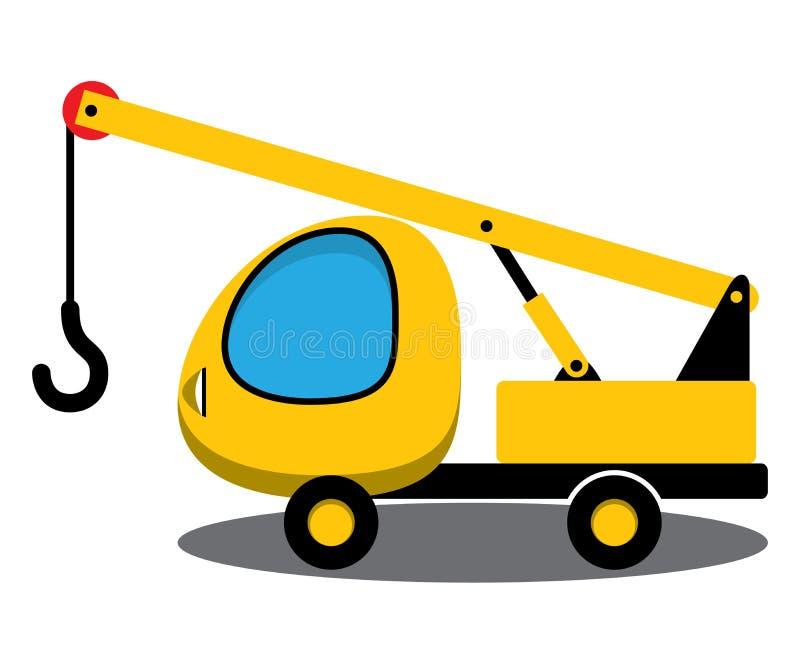 Zabawkarski żuraw ilustracji