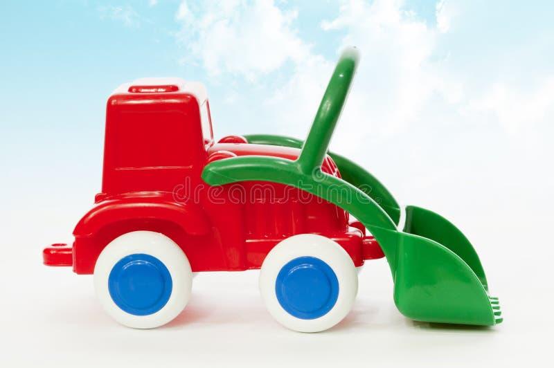 zabawkarski ciągnik obrazy royalty free