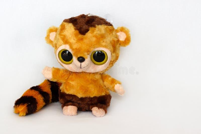 Zabawkarski lemur zdjęcia royalty free