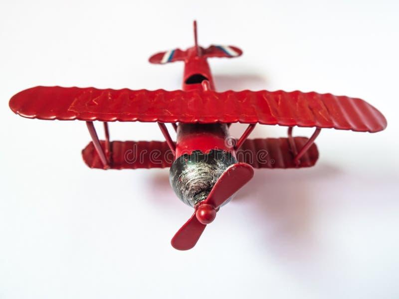 Zabawkarski samolot obrazy royalty free