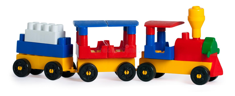 zabawkarski pociąg zdjęcia stock