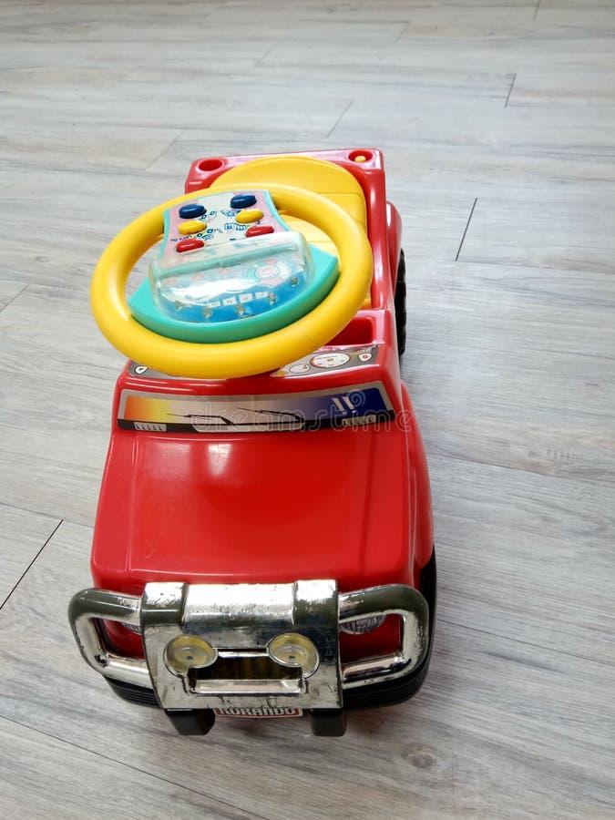 Zabawkarski rewolucjonistka samochód fotografia royalty free