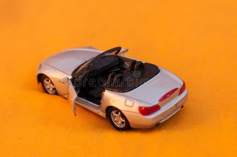Zabawkarski sporta samochód obrazy stock