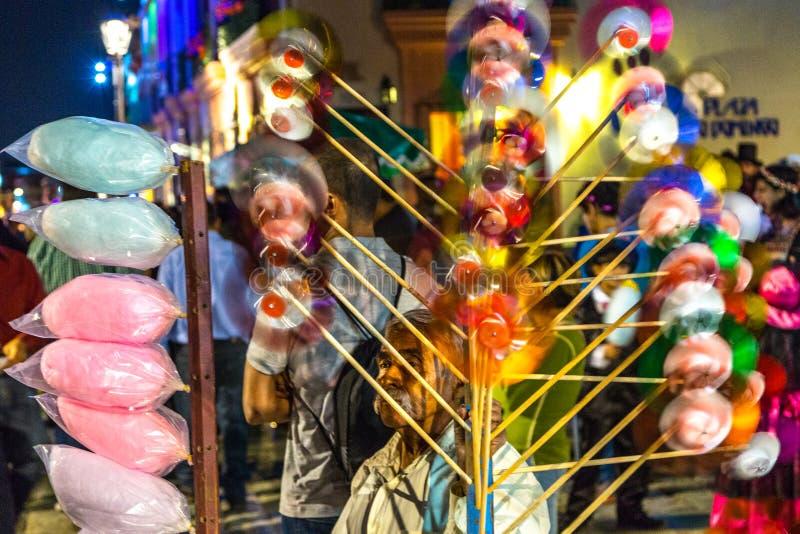 Zabawkarski sprzedawca zdjęcia stock