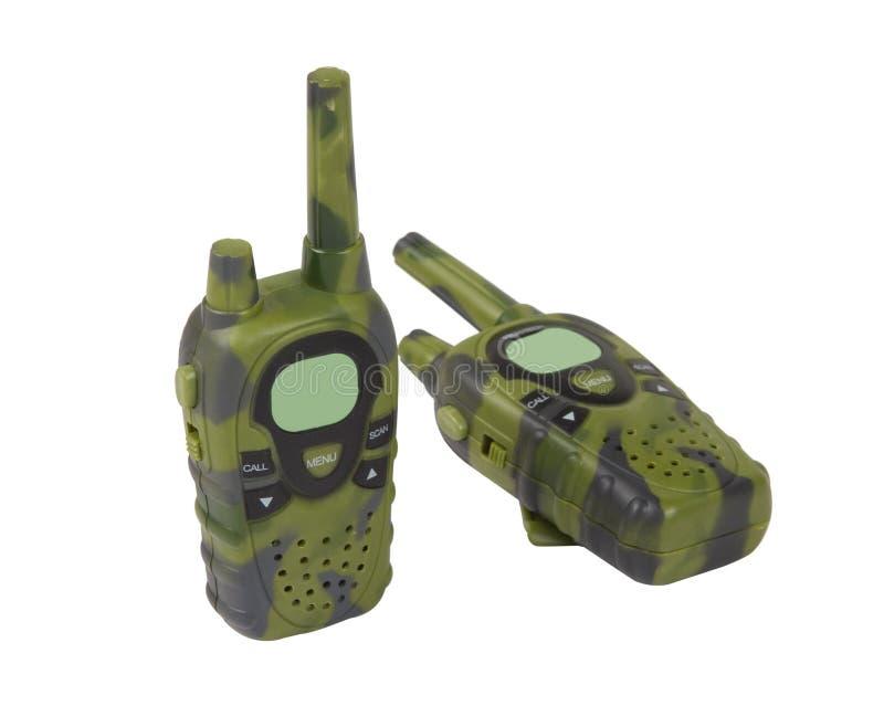 zabawkarski talkie walkie fotografia royalty free
