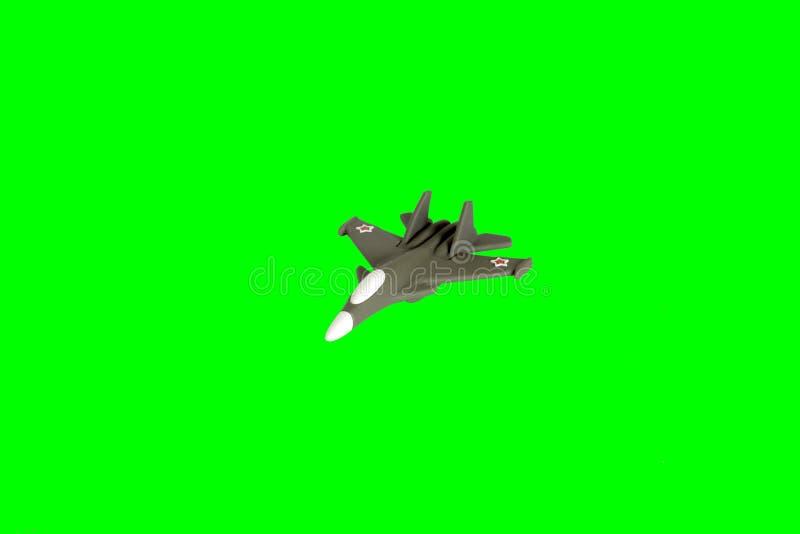 Zabawkarski wojna samolotu wojownik obraz royalty free