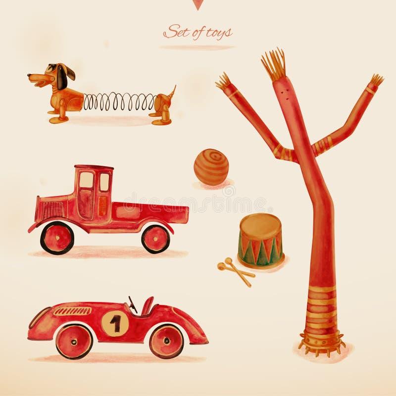 Zabawki. royalty ilustracja