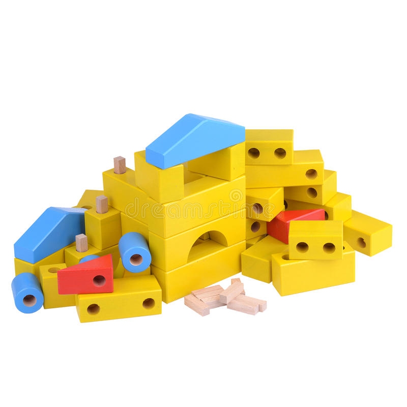 zabawki, drewniany zdjęcia royalty free