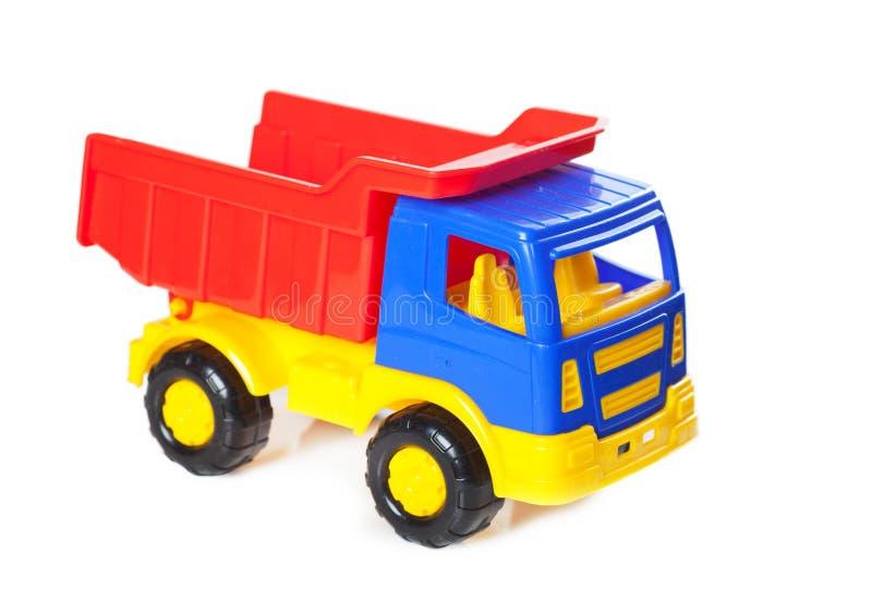 zabawki kolorowa ciężarówka obrazy royalty free