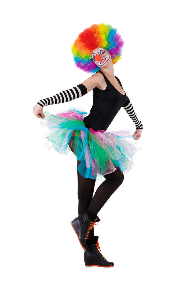 zabawne klaun obraz royalty free