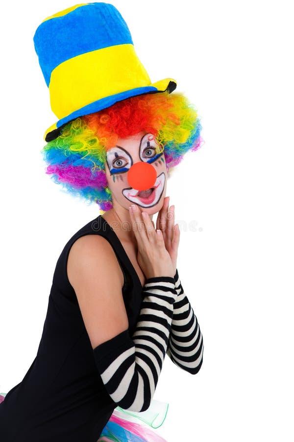 zabawne klaun fotografia royalty free