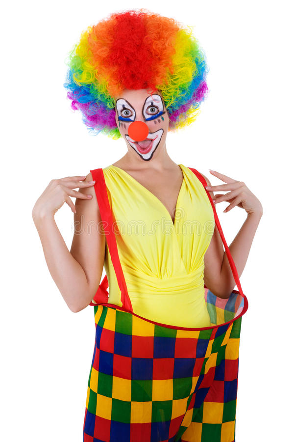 zabawne klaun zdjęcie stock