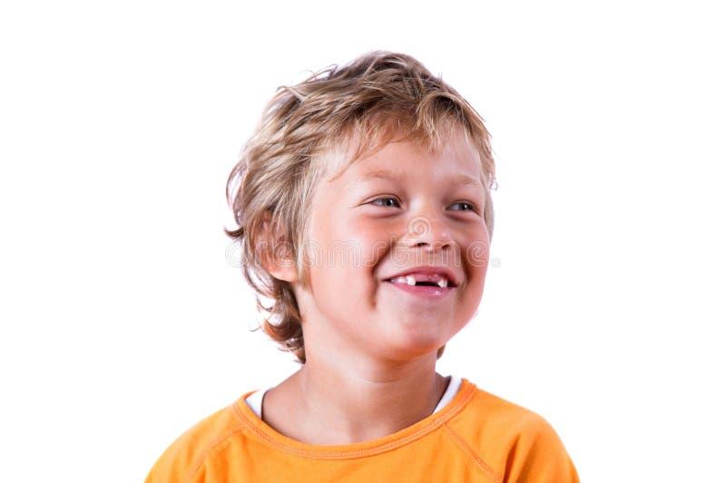 zabawne uśmiech obraz stock