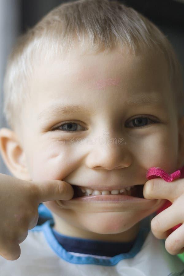 zabawne usta zdjęcia stock
