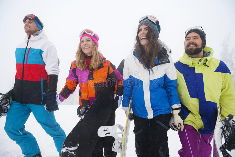 zabawnie kierowcy sledge zimy zdjęcie royalty free