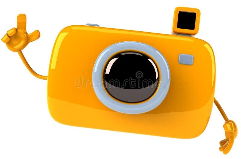 Zabawy kamera ilustracji