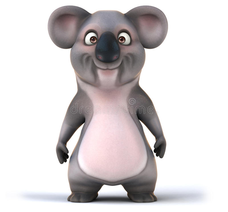 Zabawy koala royalty ilustracja