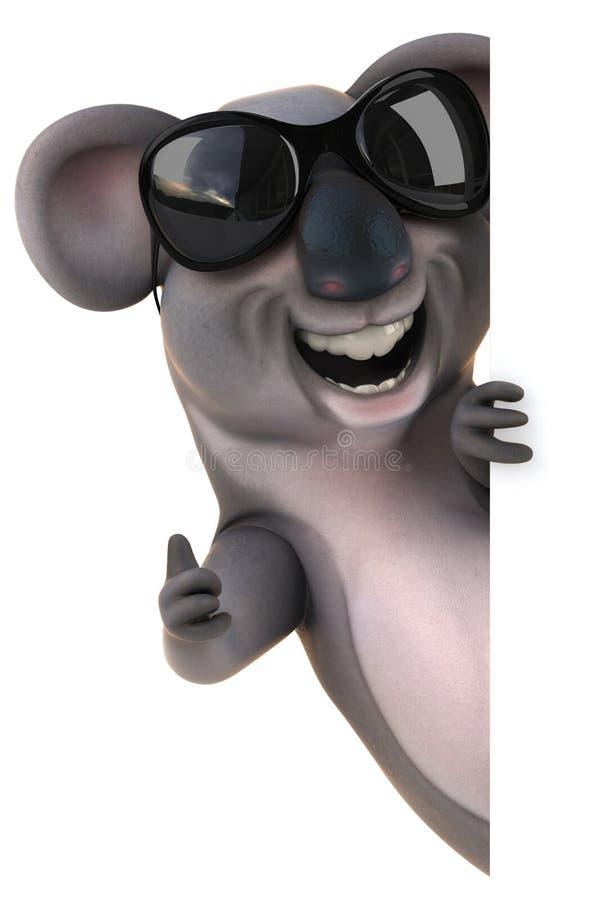 Zabawy koala ilustracji